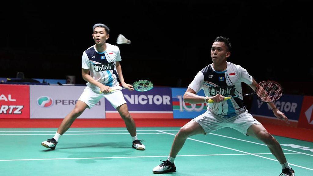 Kalah Kreatif, Fajar/Rian pun Gagal ke Final Malaysia Masters