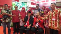 Beras Organik dari Ngawi Diminati Pengunjung dalam Rakernas I PDIP