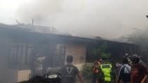 14 Rumah di Kawasan Asrama Polisi Wisma Segara Balikpapan Kebakaran