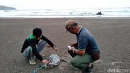 Lagi Bangkai Penyu Ditemukan di Pangandaran, di Perutnya Ada Sampah Plastik