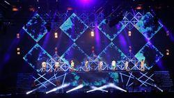 Lautan Saphire Blue di Konser Super Junior SS8: Infinite Time