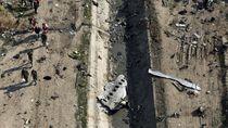 Satelit AS Potret Lokasi Jatuhnya Pesawat Komersial Ukraina