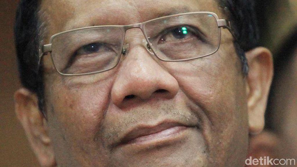Mahfud Md Yakin Prabowo akan Beri Perhatian Kasus Korupsi Rp 10 Triliun Asabri