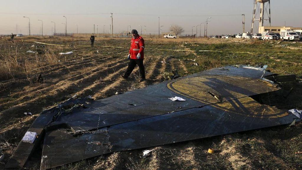 Kanada Bersumpah Selidiki Hingga Tuntas Jatuhnya Pesawat Sipil Ukraina