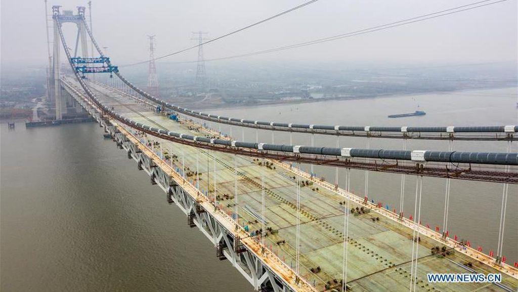 Canggih! Jembatan Multifungsi untuk Mobil hingga Kereta