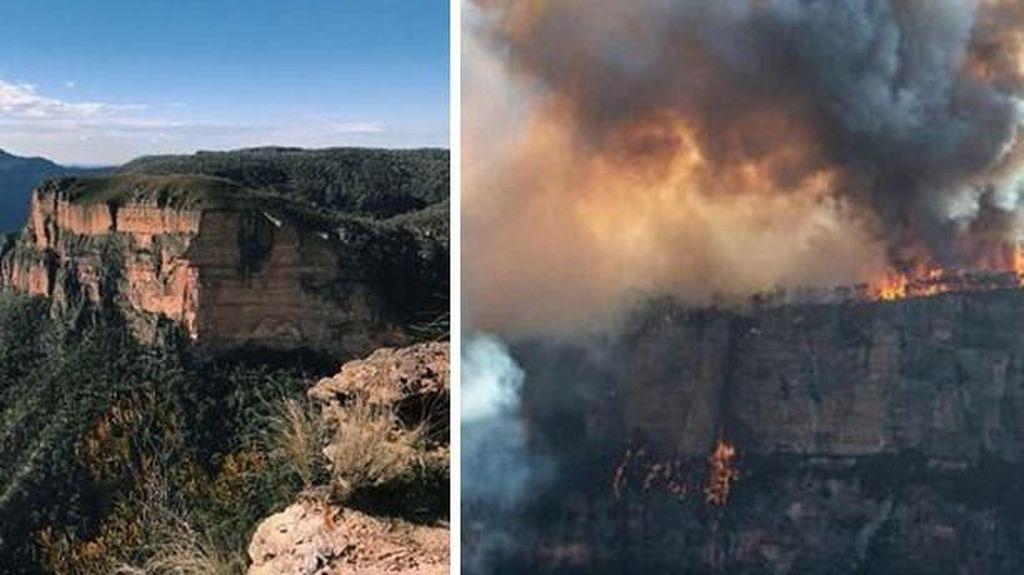 Potret Memprihatinkan Sebelum dan Sesudah Kebakaran Australia