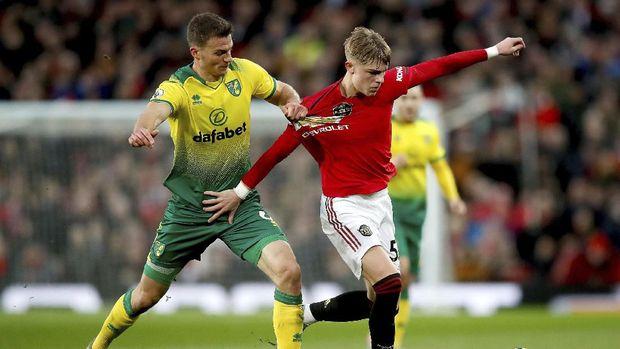 MU berhasil mendominasi laga lawan Norwich.
