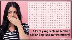 Tiap orang punya berbagai macam kepribadian. Empat kata yang pertama kali terbaca dalam puzzle ini mungkin bisa menggambarkan kepribadian tersembunyi.