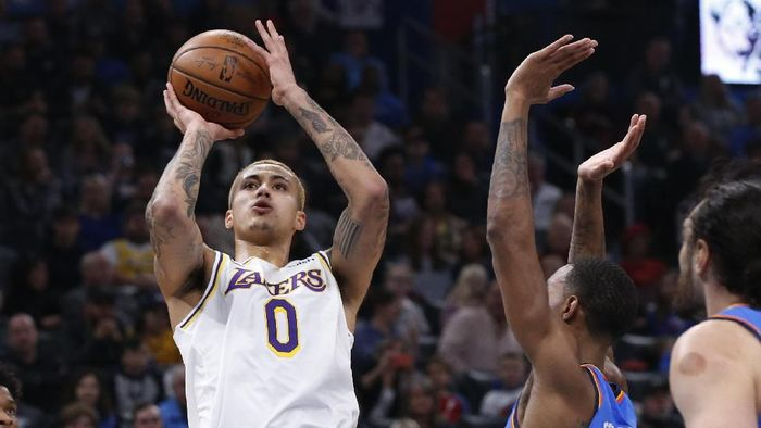 LA Lakers kalahkan Oklahoma City Thunder (Sue Ogrocki/AP Photo)
