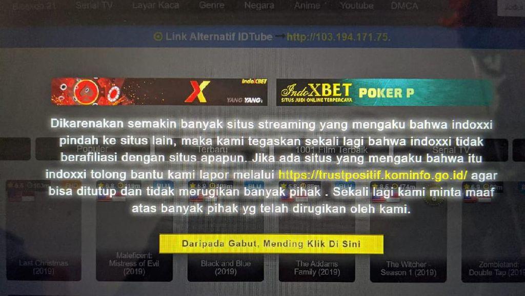 SETOP Nonton IndoXX1-LayarKaca21 Sekarang Juga! Ada Situs yang Legal Nih