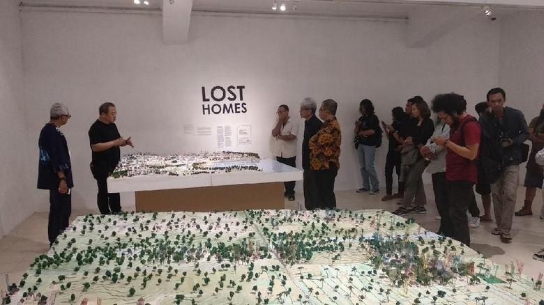 Foto: Pameran Earth Manual Project di Jogja Gallery (Vattaya Zahra/detikcom)