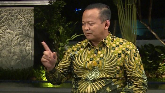 Menteri Kelautan dan Periakanan Edhy Prabowo