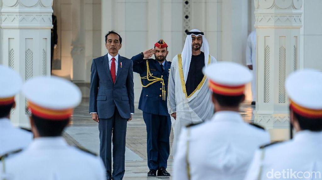 Jokowi Tawarkan Pangeran Abu Dhabi Jadi Pengarah Tim Pindah Ibu Kota