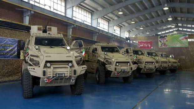 Kenalan dengan 3 Mobil Tempur Militer Iran