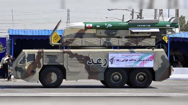 Kendaraan tempur Iran Ra'ad.