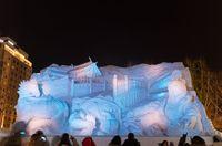 Persiapan Festival Salju Jepang Terkendala Musim Dingin Hangat
