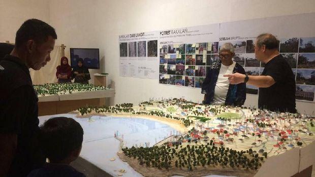 Pameran Miniatur Kota Sebelum Tsunami Digelar di Yogyakarta