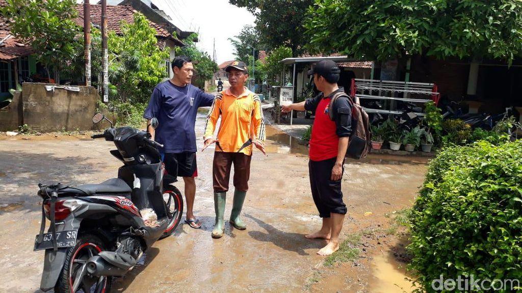 Banjir yang Rendam Puluhan Rumah di Kudus Berangsur Surut