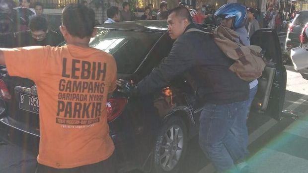 Kecelakaan Beruntun di Jalan Antasari Jaksel, Lalin Macet