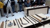 Ulah Geng Pelajar di Yogya, Bawa Pedang hingga Rusak Mobil Polisi