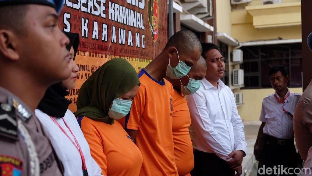 PSK Komplotan Pembakar Pria Karawang Kerap Unggah Video Mesum