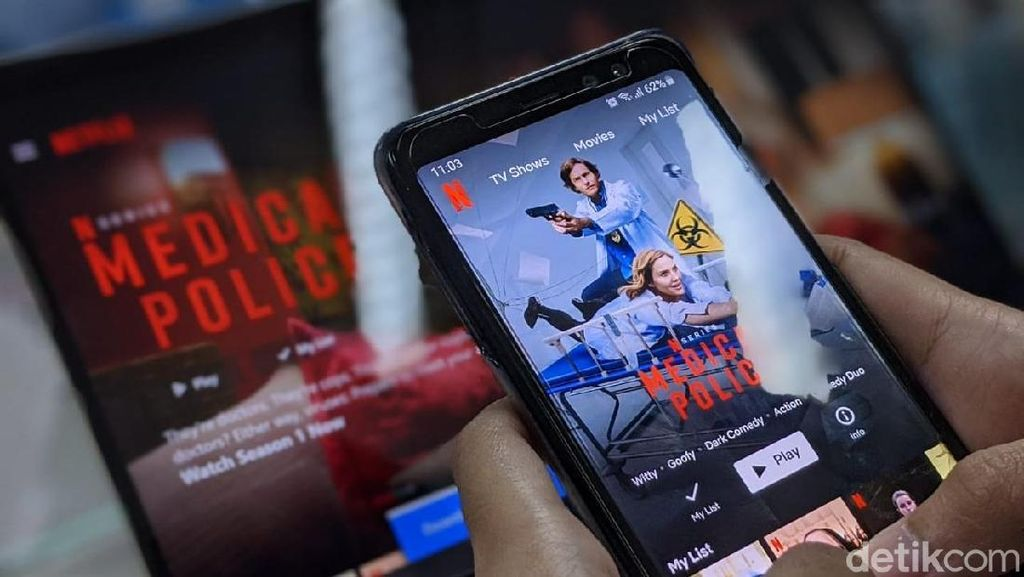 Beda Pendapat Para Menteri Soal Netflix