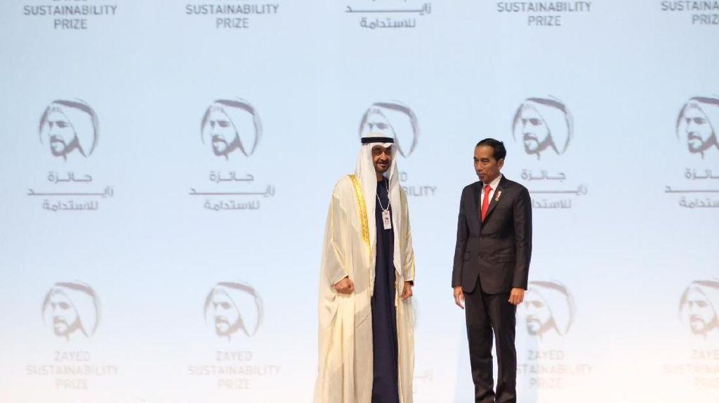 Diajak Jokowi, Pangeran Abu Dhabi Masuk Tim Pemindahan Ibu Kota