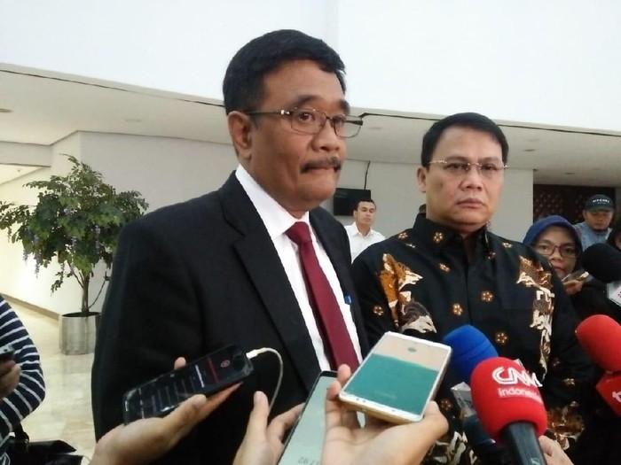 Ketua DPP PDIP Djarot Saiful Hidayat (Eva Safitri-detikcom)