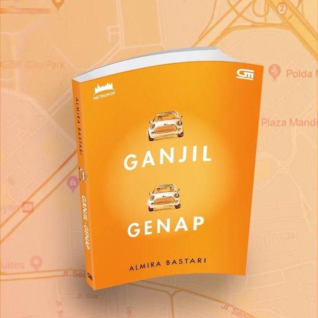 Novel Ganjil-Genap Ludes 700 Eksemplar dalam 10 Menit!