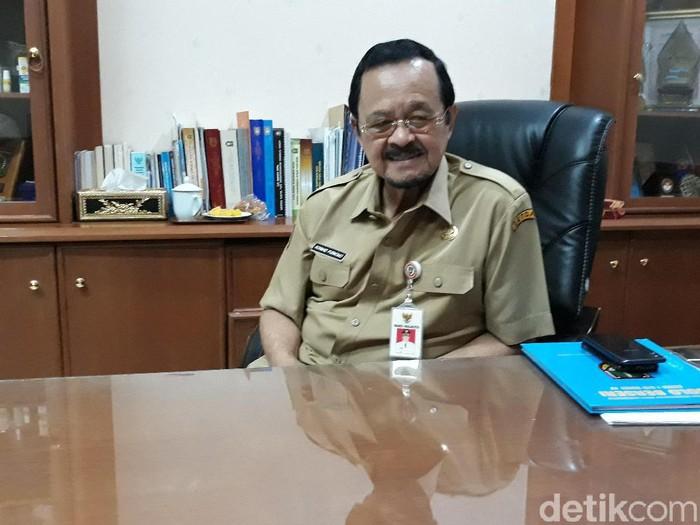 Wakil Wali Kota Solo, Achmad Purnomo, Selasa (13/1/2020).