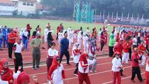 Warga Semarang Bisa Jajal Alat Fitnes Gratis di GOR Tri Lomba Juang