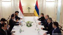 Bertemu Presiden Armenia, Jokowi Minta Akses Bebas Visa untuk WNI