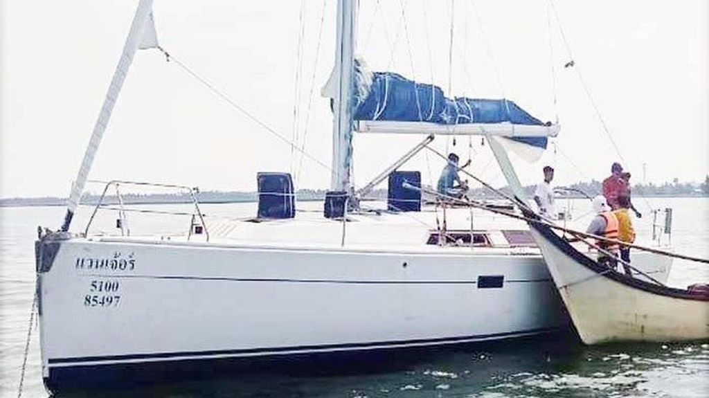 Pemilik Yacht Mewah yang Terombang-ambing di Aceh WN Inggris