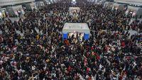 Chunyun atau mudik di China