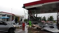 Badai Rusak  Rest Area Km 166 di Tol Cipali