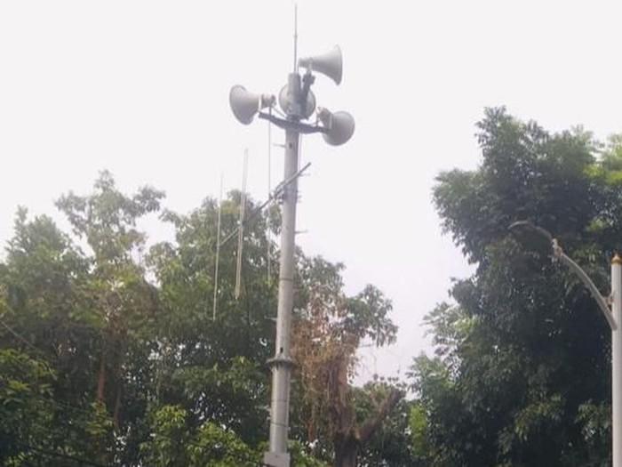 Disaster Warning System (DWS) yang dipakai BPBD DKI untuk sebar peringatan dini banjir ke warga (dok. BPBD DKI Jakarta)