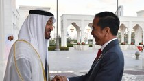 Ketika Jokowi dan Pangeran UEA Saling Mengistimewakan