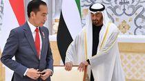Jokowi Minta Putra Mahkota UEA Jadi Dewan Pengarah Ibu Kota Baru