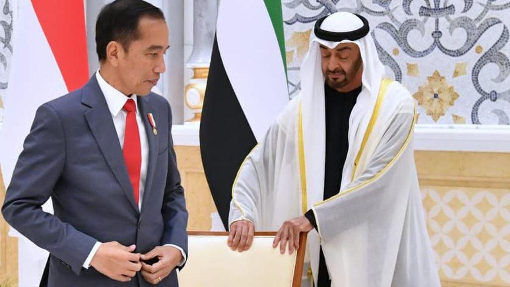 Alasan Jokowi Ajak Pengeran Abu Dhabi Jadi Pengarah Tim Pindah Ibu Kota