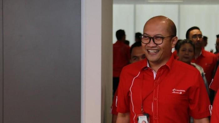 Dirut baru Telkomsel Setyanto Hantoro. Foto: Telkomsel