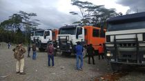 Bus Rombongan Karyawan Freeport Ditembaki OTK