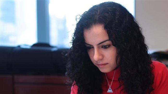 Razan Malash (Twitter via Press TV)