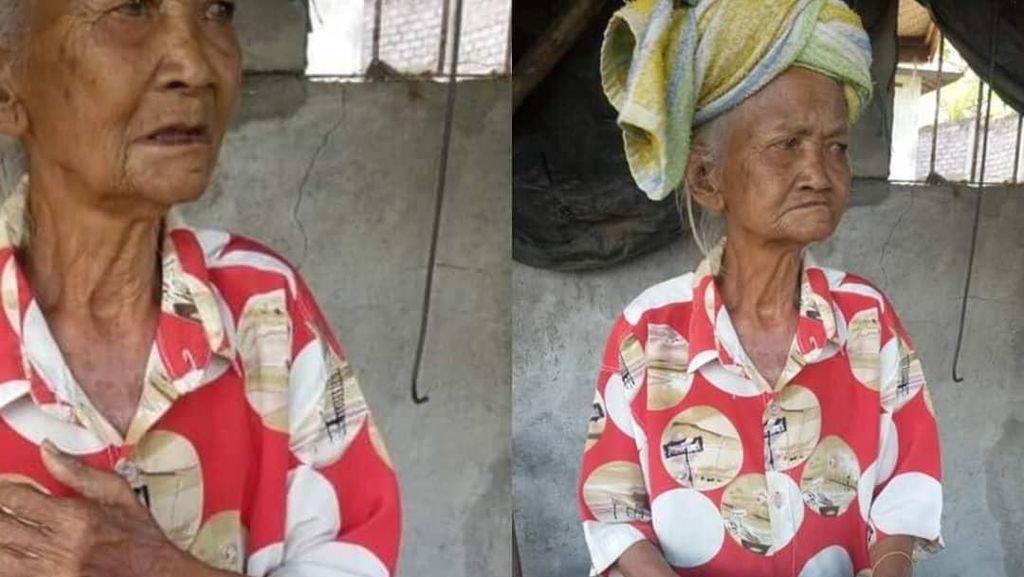 Tega! Nenek Penjual Canang di Bali Dibayar Pakai Uang Mainan