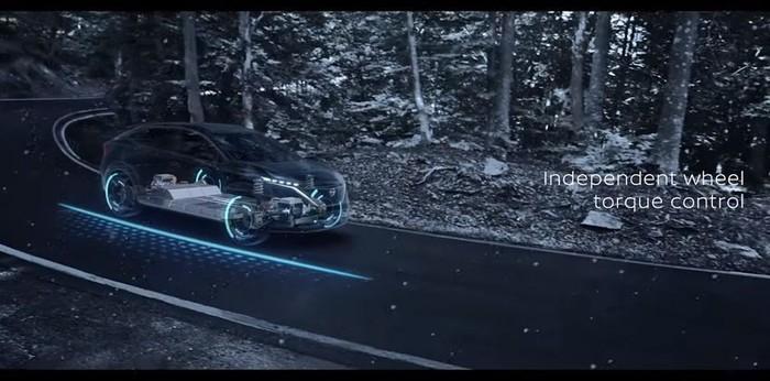 Teknologi e-4ORCE di mobil konsep Nissan Ariya