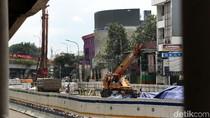 Proyek Underpass Senen Diperpanjang Sampai Mal Atrium