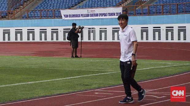 Shin Tae Yong: Pemain Timnas Indonesia U-19 Grogi