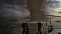 FOTO: Melihat Lagi Dahsyatnya Erupsi Taal Volcano di Filipina
