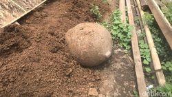 Batu Kenong Zaman Megalitikum Ditemukan Warga Jember saat Gali Septic Tank
