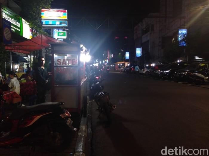 Dokumentasi suasana kawasan Sabang di malam hari. (Arief Ikhsanudin/detikcom)