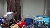 Dirut BPJS Kesehatan Tinjau Layanan Cuci Darah dengan Finger Print
